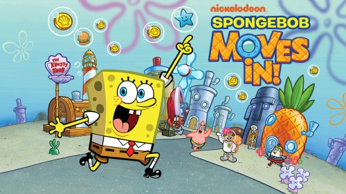 SpongeBob Moves In for Android
